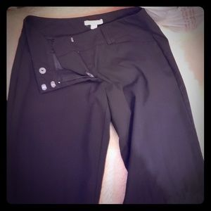 Ny and co black flare work pant